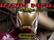 Iron Man Find the Alphabets