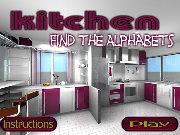 Kitchen Find the Alphabets