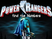 Power Rangers Find the Numbers