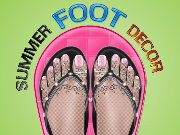 Summer Foot Decor